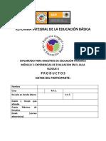CUADERNO DE TRABAJO BLOQUE 8 Y 9 RIEB DOCENTE