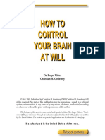 (eBook Self Help Life Skills Learning) How to Control Your Brain at Will by Vittoz & Godefroy[1]