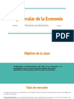 Flujo Circular de la Economía. Taller