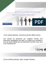 Les produits d'assurance ( Droit Marocain)