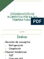 3.1 Conservación Por Refrigeración