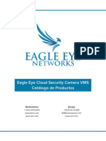 Eagle Eye Cloud Security Camera VMS Product Catalog 20180709 - ES _1_