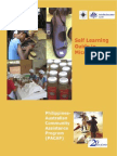 Self-Learning Guide in Microfinance