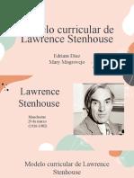 Modelo Curricular de Laurence Stenhouse