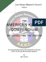 American Kenpo Compenduim