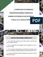 7 Bombas Hidráulicas Aeronáuticas - Bombas de Pistones Eje en Ángulo
