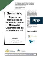 MARCOS DAS ORGANIZAÇÕES DO MARCO CIVIL