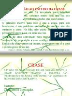 INTRODUÇÃO AO ESTUDO DA CRASE