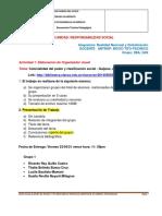 Criterios Trabajo de Responsabilidad Social II Unidad 2ag