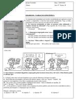 Variação linguística - Língua Portuguesa - 6º ano