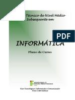 Projeto Pedagógico Curso Técnico Em Informática