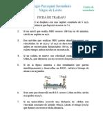 FICHA DE TRABAJO - MRU