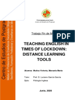 Distance Tools for teaching