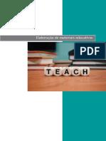 Elaboração Material Educativo