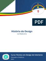 Ebook - História do Design [ETEPAC 2021]