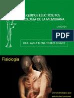 Unidad 1 Tema 1 Liquidos Electrolitos Fisiologia de Menbrana