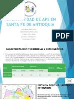 OPERATIVIDAD DE APS EN SANTA FE DE ANTIOQUIA