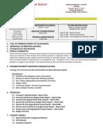 Carthage Central Board of Education agenda April 21, 2021