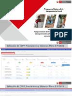 PPT Selección de CCPP, Prestadores y Sistemas Meta 5 PI 2021 - HCO
