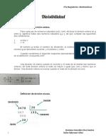 Divisibilidad - Matemática