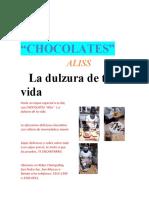 CHOCOLATES AFICHE