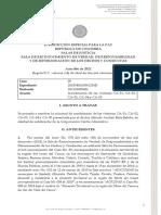 Auto de la JEP sobre población LGBT norte del Cauca