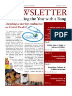 Mount Allison Centre for International Studies March Newsletter
