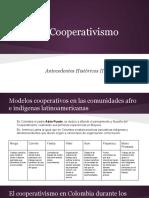 Antecedentes Cooperativismo Colombia