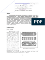 Carbon Nanotube Based Composites- A Review