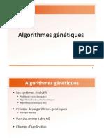 Chapitre 3 Genetic Algorithm