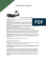 10 Defeitos Que Podem Ocorrer No Fiat Uno