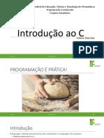 AULA_01 -Introdução a Programação
