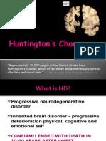 Hannan Huntington's Disease