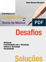 Estratégias de Avaliação no Ensino à Distância da Teoria Musical