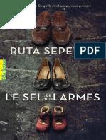 Le sel de nos larmes_RUTA SEPETYS_Gallimard