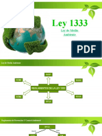 Ley 1333 exposicion