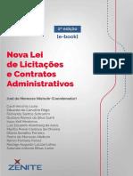 Nova Lei de Licitacoes e Contratos Administrativos-2º. Edição