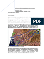Informe de La Inspec. Rio Chillon 2011