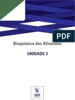 Guia de Estudos Da Unidade 3 - Bioquímica Dos Alimentos