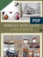 4227 Bacon Ave, Berkley, MI | Beautiful Berkley Bungalow