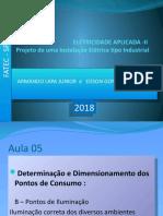 instalacoes eletricas FATEC 2018. AULA 05