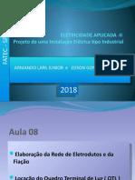 instalacoes eletricas FATEC 2018. AULA 08