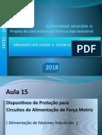 instalações elétricas FATEC 2018 , AULA 15