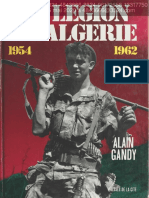 La Legion En Algerie 1954-1962 Alain Gandy