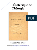 50 1959 Traite Esoterique de Theurgie