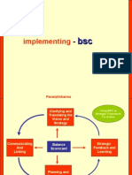Implementation of Balanced Scorecard