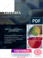 Microbiologia (Listeria o Listeriosis)