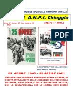 Notiziario ANPI Chioggia numero 67