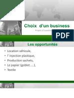 opportunités business