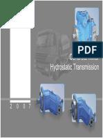 Concrete Mixer Hydrostatic Transmission New